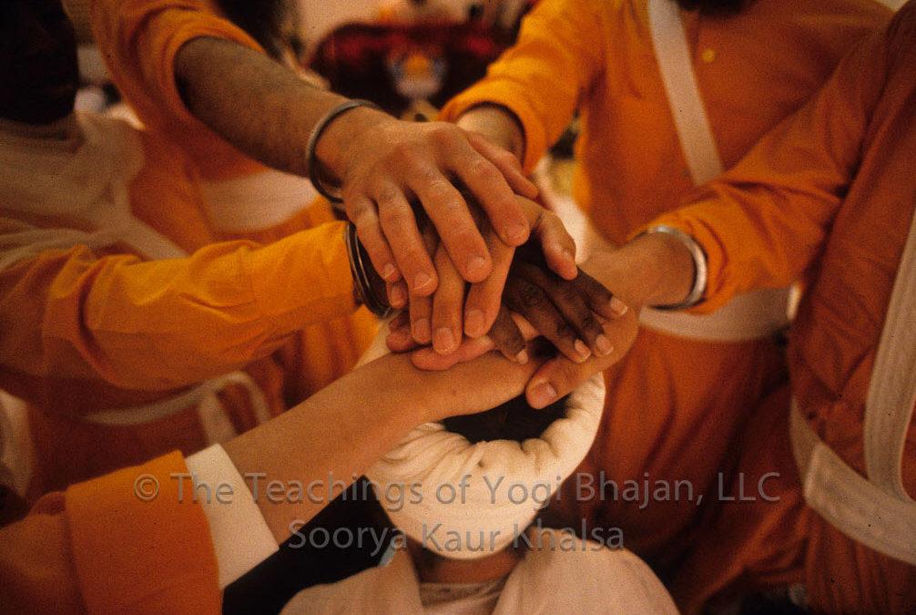 Amrit Ceremony with Siri Singh Sahib Ji