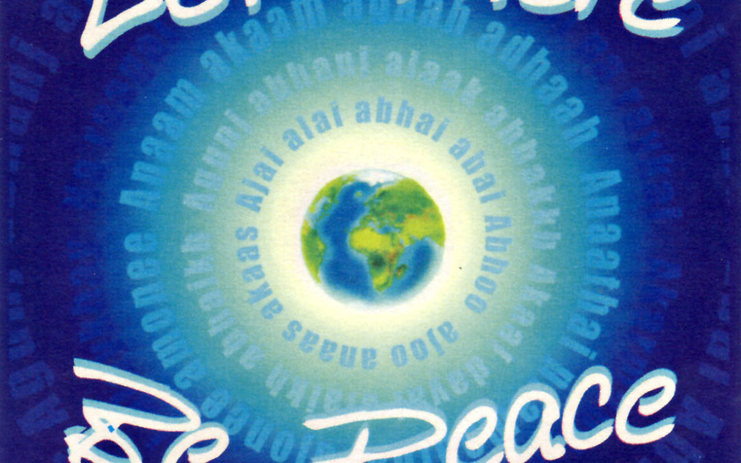 The Story Behind the Meditation for Peace