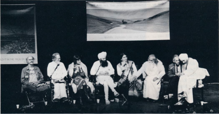 Stop: Yogi Bhajan and Ram Dass Talk Nuclear War in 1982