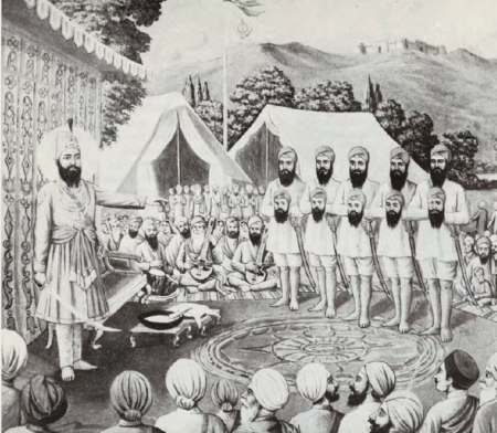 "Baisakhi Day, 1699 – ""A First Person"" Imagining"