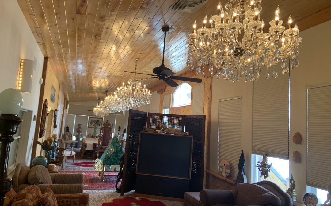 The Six Crystal Chandeliers