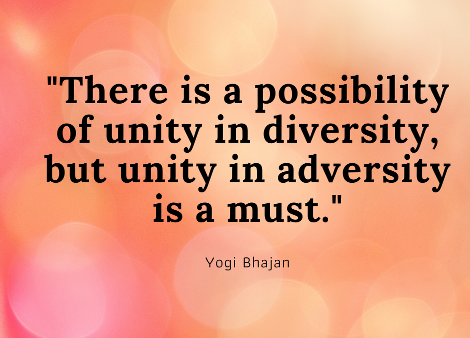 Yogi Bhajan Quotes on Unity and Oneness