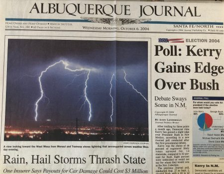 A Crash of Thunder and All Things Change