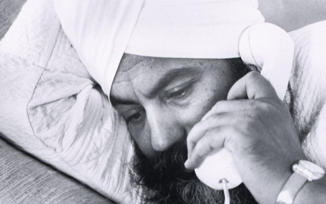 Prayer is a Telephone Call