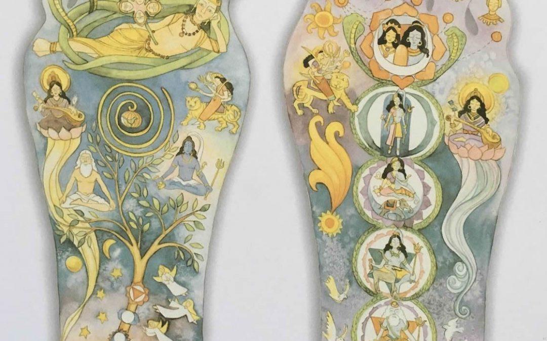 At the Feet of the Master – Yogi Bhajan's Illustrated Foot Chart